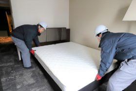【正社員】ベッド、家具等の現場設置業務